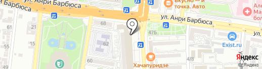 Акssесуары на карте Астрахани