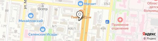 Компания по обслуживанию и ремонту судов на карте Астрахани