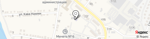 Детский сад на карте Осыпного Бугра