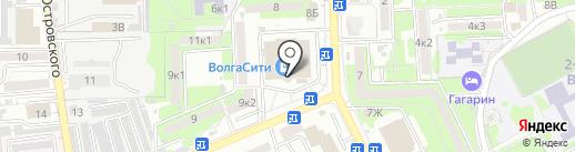 РЕНИ на карте Астрахани