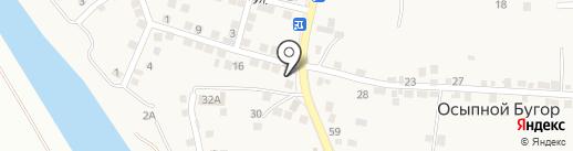 Интрига на карте Осыпного Бугра
