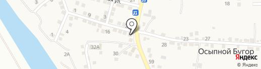 Елена на карте Осыпного Бугра