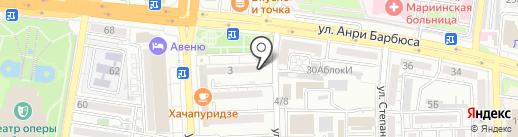 АСТРАХАНЬ ТРЕЙД на карте Астрахани