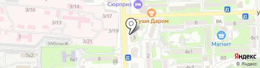 ЭКО+, ЗАО на карте Астрахани