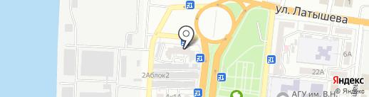 Emex на карте Астрахани