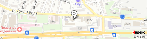 Мастерская по ремонту обуви и одежды на карте Астрахани