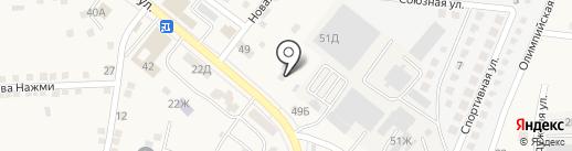 Строительный двор на карте Осыпного Бугра