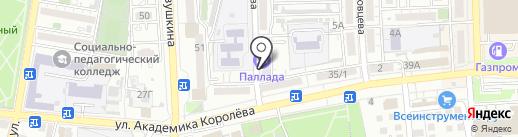 Экопром-Юг на карте Астрахани