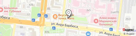 Часовня святого великомученика Пантелеймона на карте Астрахани