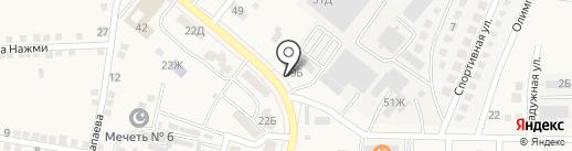 Банкомат, Сбербанк, ПАО на карте Осыпного Бугра