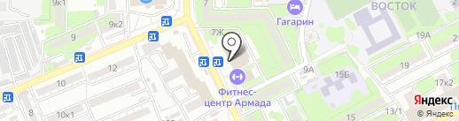 Колхида на карте Астрахани