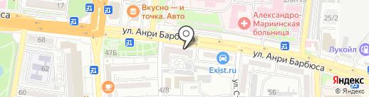 Уральский банк реконструкции и развития, ПАО на карте Астрахани