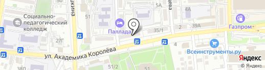 1М-Ломбард, ЗАО на карте Астрахани