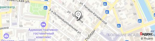 Астраханская лаборатория судебной экспертизы на карте Астрахани