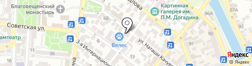 Тренинг-А на карте Астрахани