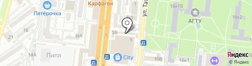 ФЛЕШКА на карте Астрахани