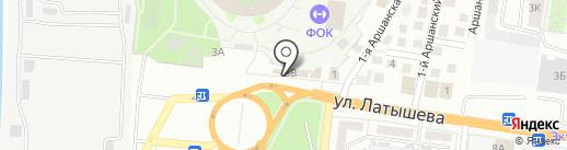 Росгосстрах банк, ПАО на карте Астрахани