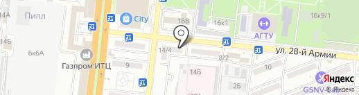 Магазин товаров для спорта и туризма на карте Астрахани