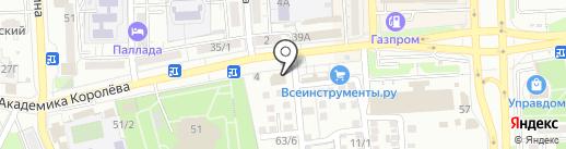 Банк ВТБ 24, ПАО на карте Астрахани