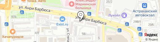Pro Sport-Астрахань на карте Астрахани