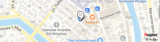PRINTSERVICE на карте Астрахани