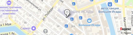 Райдер на карте Астрахани