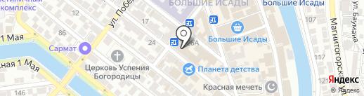 Р.А.Й на карте Астрахани