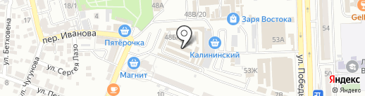 OrangeStyle на карте Астрахани