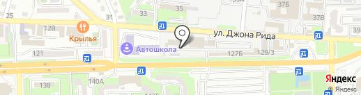 Тесла-Стартер на карте Астрахани