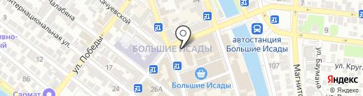 Ювелирная мастерская у Романа на карте Астрахани
