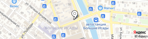 Fastmoney на карте Астрахани