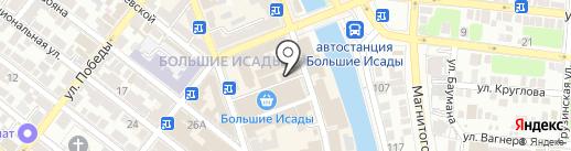 Фотостудия на карте Астрахани