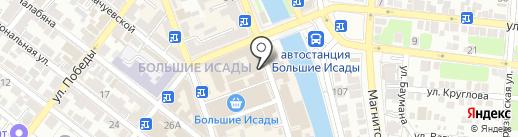 Торгово-ремонтная фирма на карте Астрахани