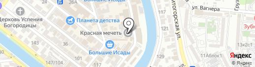 Мечеть №3 на карте Астрахани