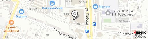 РашЭль на карте Астрахани