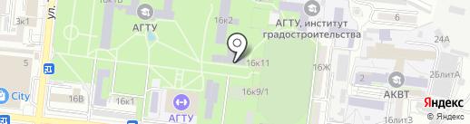 Лаборатория по испытанию строительных материалов и конструкций на карте Астрахани