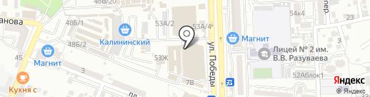 Для пышных леди на карте Астрахани