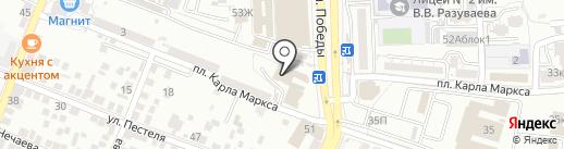 АникаТелеком на карте Астрахани