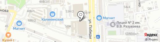 Marianna на карте Астрахани