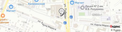Никита на карте Астрахани