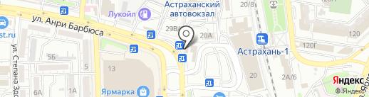 МегаФон на карте Астрахани