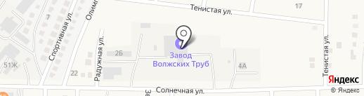 Полимер-2 на карте Осыпного Бугра