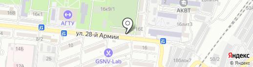 Многопрофильная компания на карте Астрахани