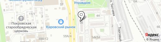 DIVA на карте Астрахани