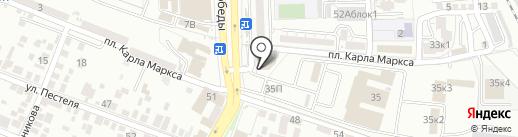 DNS на карте Астрахани