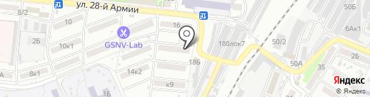Милашка на карте Астрахани