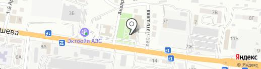 Альянс на карте Астрахани
