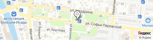 Аксессуары для свадьбы Ольги Кузиной на карте Астрахани