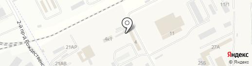 Мемориал+ на карте Астрахани