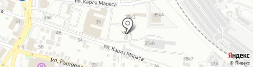 ЮГТЕХЭКСПЕРТ-А на карте Астрахани